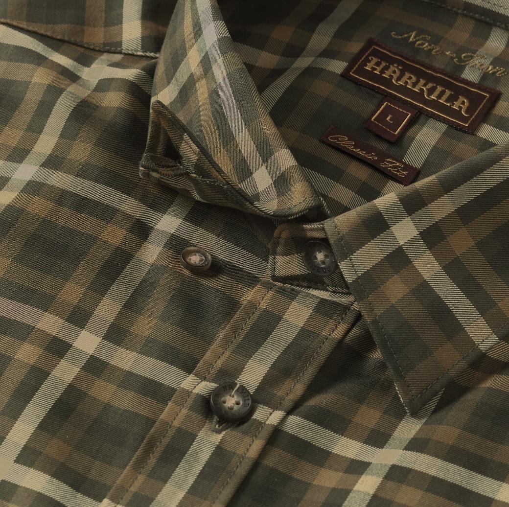 Härkila Milford Shirt Willow Green Check-3