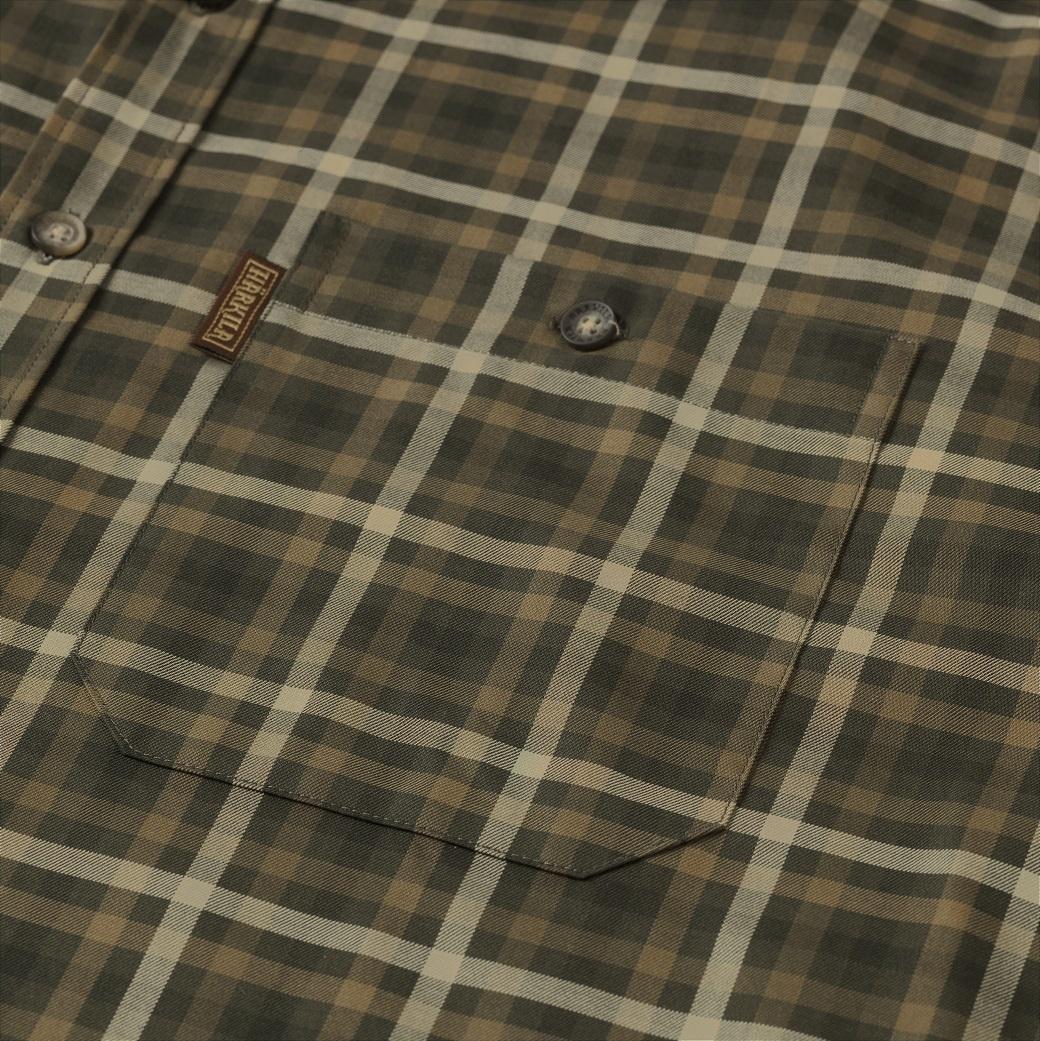 Härkila Milford Shirt Willow Green Check-5