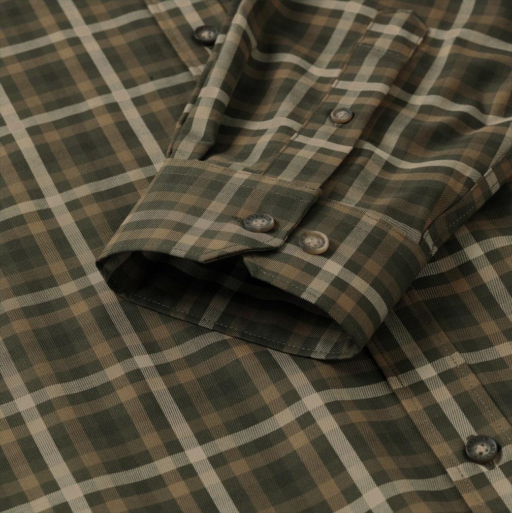 Härkila Milford Shirt Willow Green Check-4