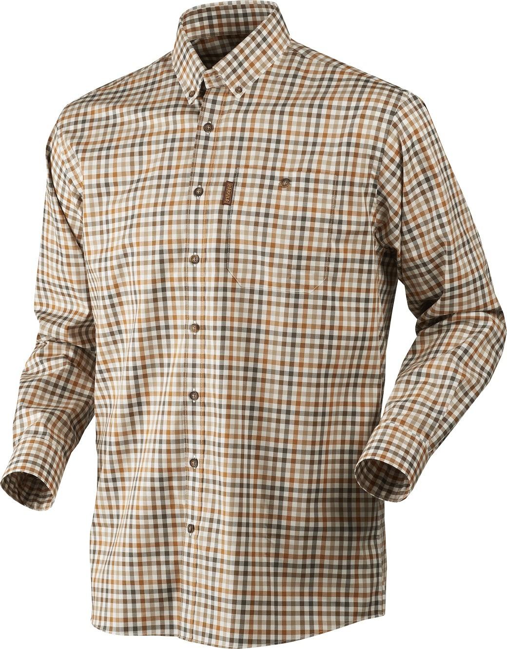 Härkila Milford Shirt Spice Check-1