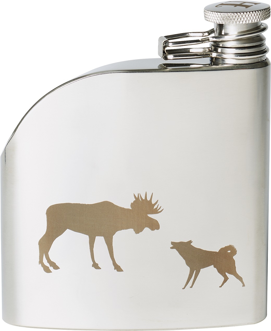 Härkila Hipflask Rectangular 175ml-1