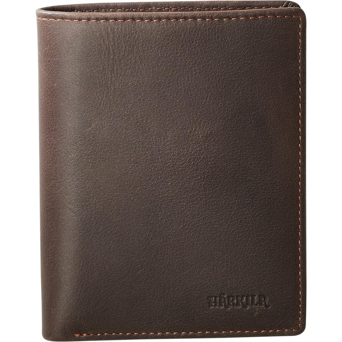 Härkila Wallet With Coin Room Dark Brown-1