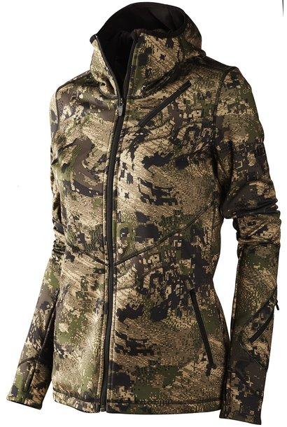 Härkila Crome Lady Fleece OPTIFADE™ Ground Forest