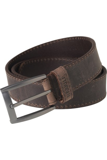 Härkila Arvak Leather Belt Deep Brown