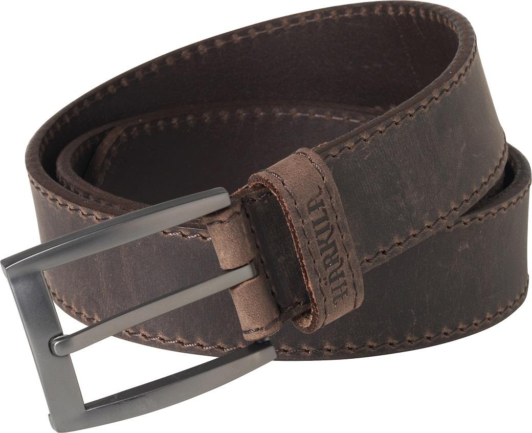 Härkila Arvak Leather Belt Deep Brown-1