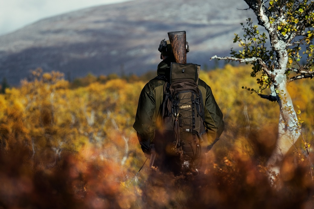 Härkila Mountain Hunter Rucksack Hunting Green/Shadow Brown-2