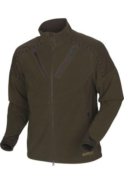Härkila Mountain Hunter Fleece Jacket Hunting Green Shadow Brown