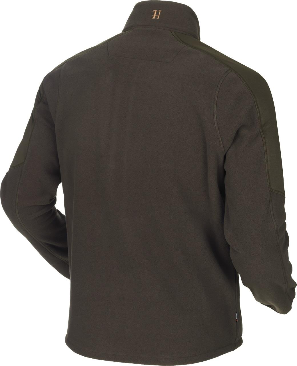 Härkila Venjan Fleece Jacket Shadow Brown Willow Green-2