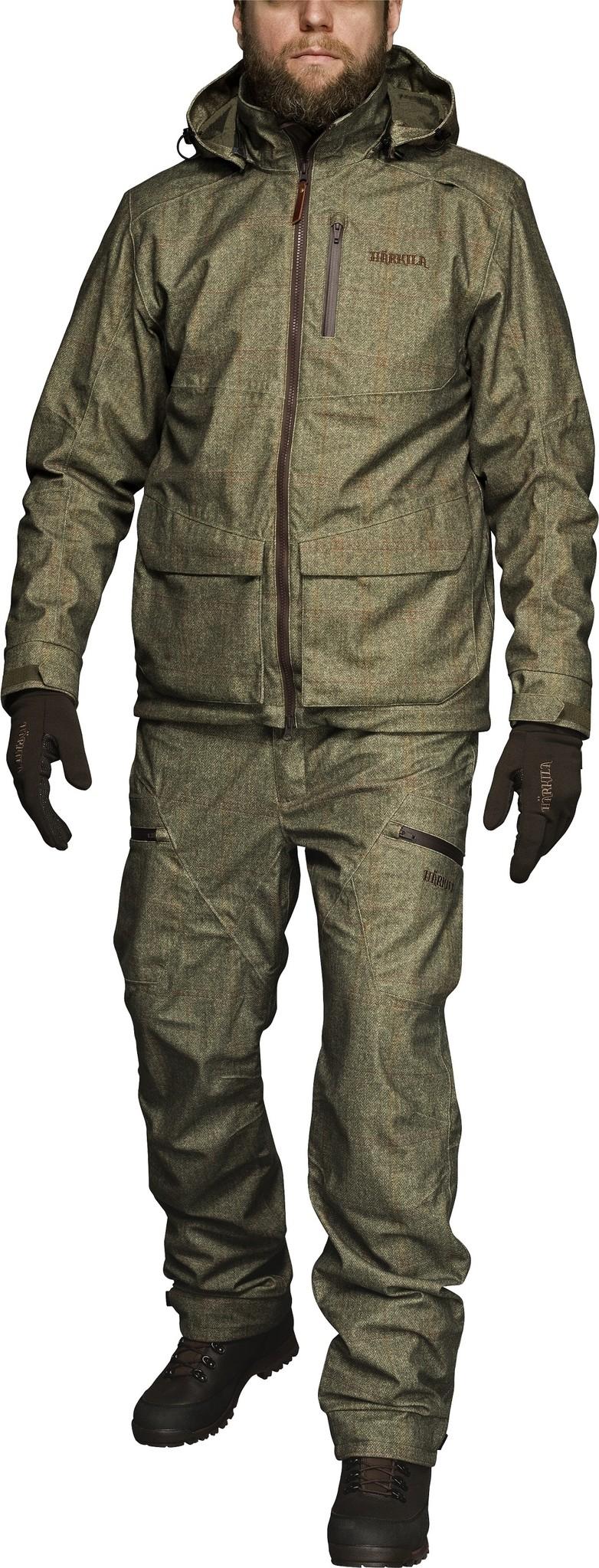 Härkila Stornoway Active jacket Cottage Green-4