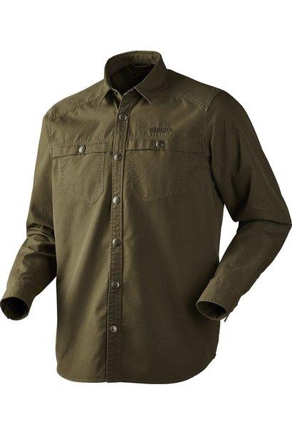 Härkila Pro Hunter Long Sleeve Shirt Lake Green