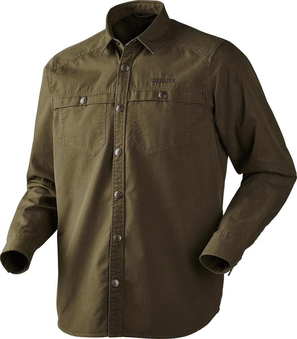 Härkila Pro Hunter Long Sleeve Shirt Lake Green-1
