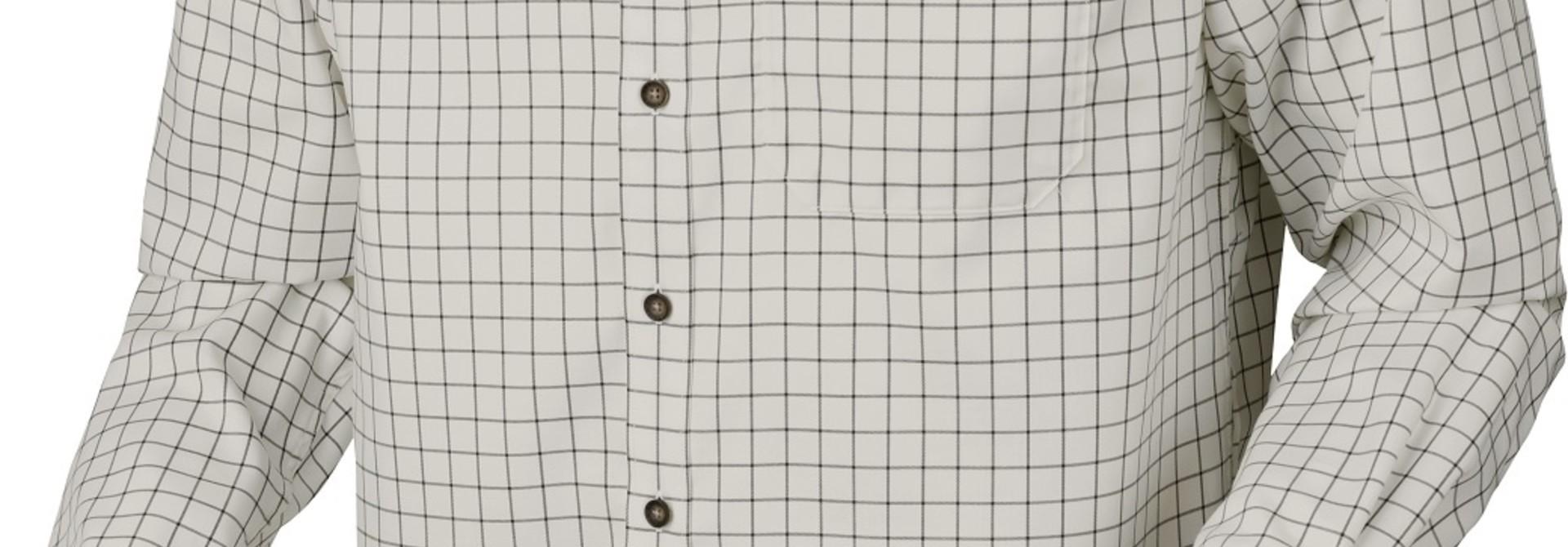 Härkila Stenstorp Shirt Dark Apple Check Button-Under
