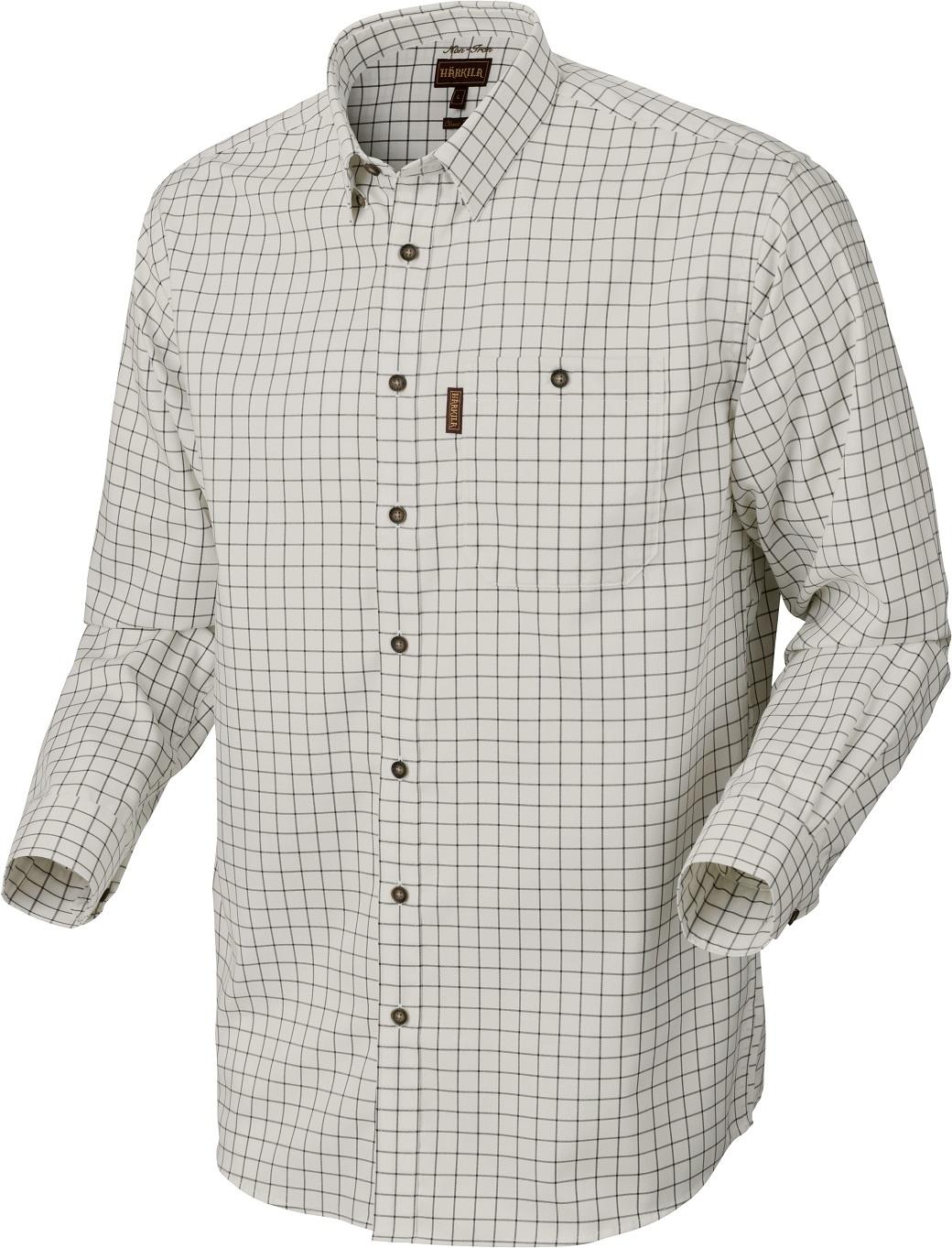 Härkila Stenstorp Shirt Dark Apple Check Button-Under-1