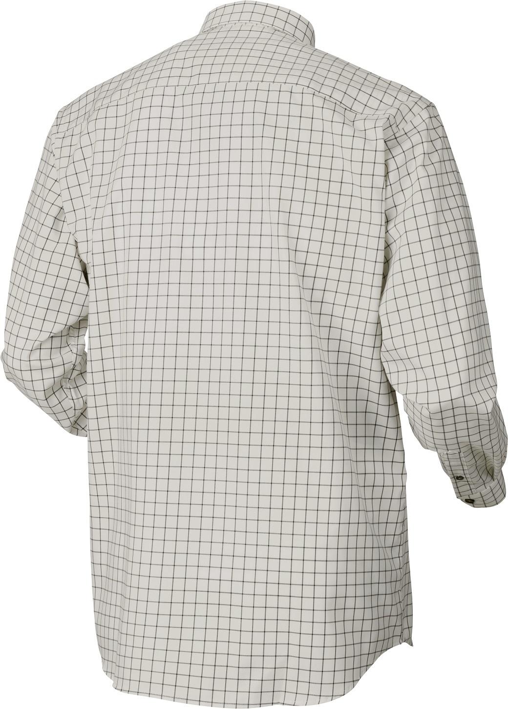 Härkila Stenstorp Shirt Dark Apple Check Button-Under-2
