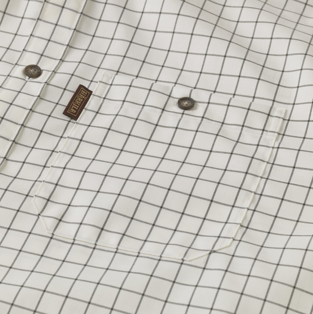 Härkila Stenstorp Shirt Dark Apple Check Button-Under-3