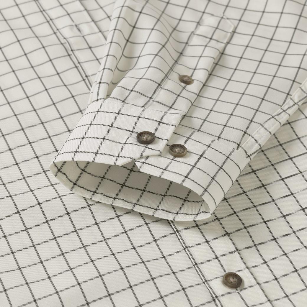 Härkila Stenstorp Shirt Dark Apple Check Button-Under-5