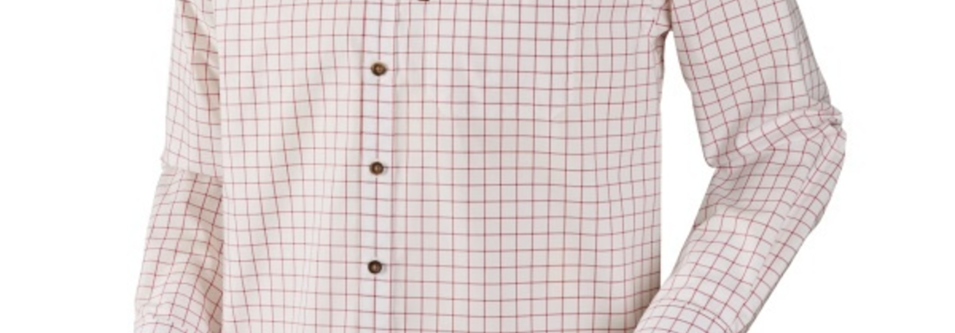 Härkila Stenstorp Shirt Bright Port Check Button-Under