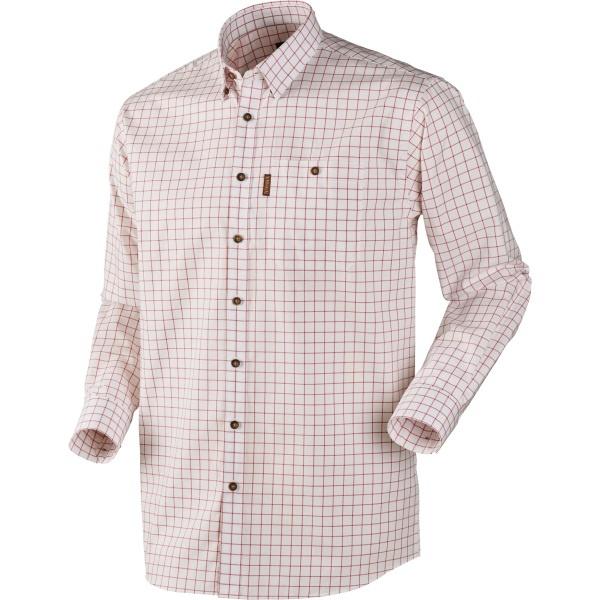 Härkila Stenstorp Shirt Bright Port Check Button-Under-1