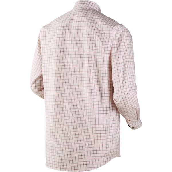 Härkila Stenstorp Shirt Bright Port Check Button-Under-2