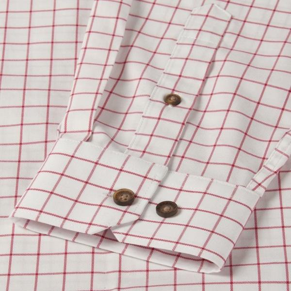 Härkila Stenstorp Shirt Bright Port Check Button-Under-4