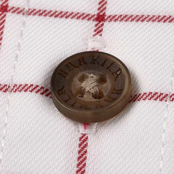 Härkila Stenstorp Shirt Bright Port Check Button-Under-5