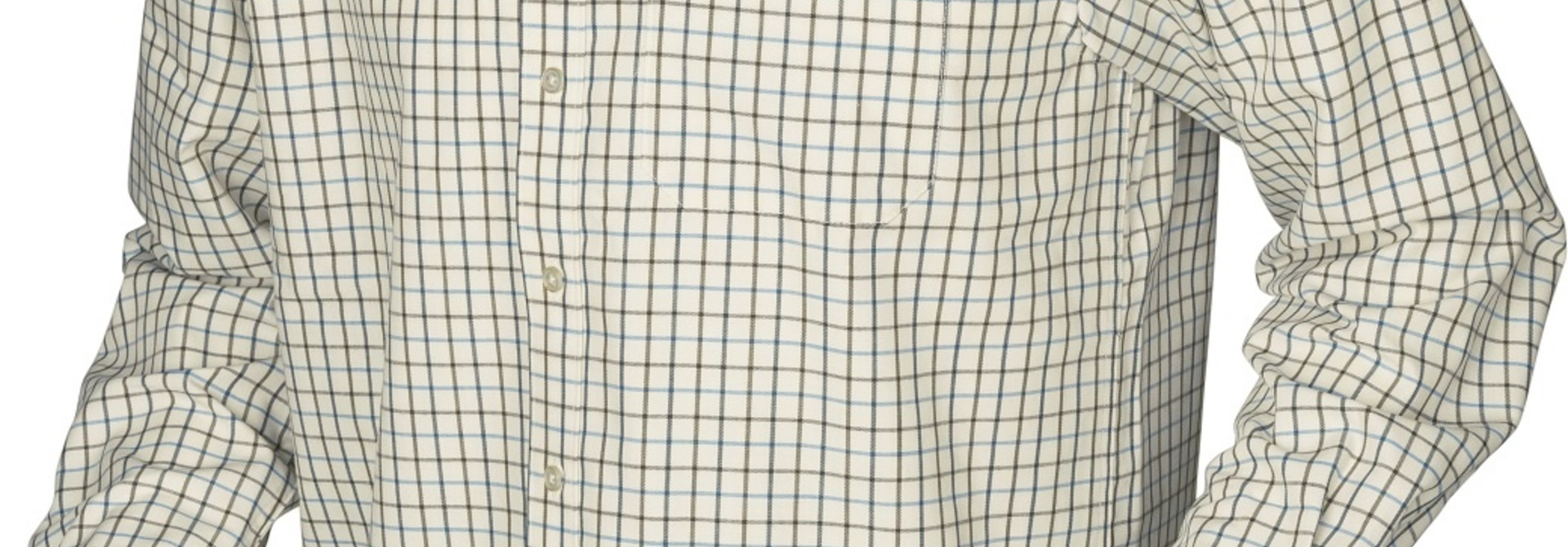 Härkila Stornoway Active Shirt Green/Blue Check