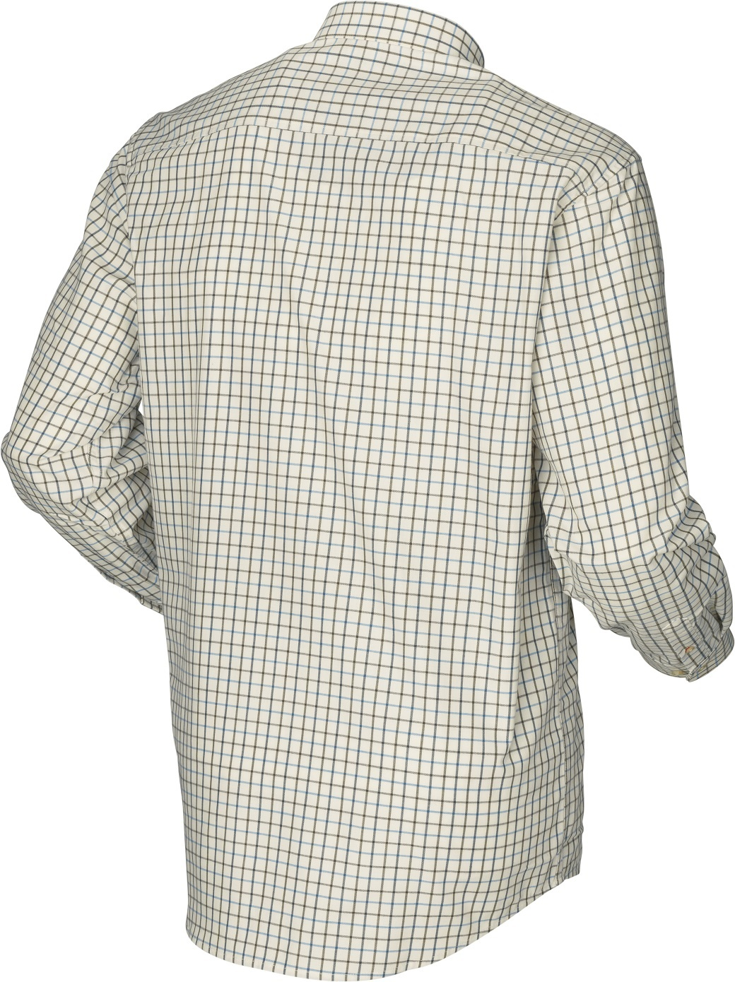 Härkila Stornoway Active Shirt Green/Blue Check-2
