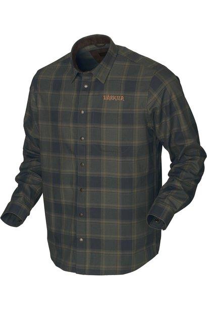 Härkila Metso Active Shirt Willow Green Check