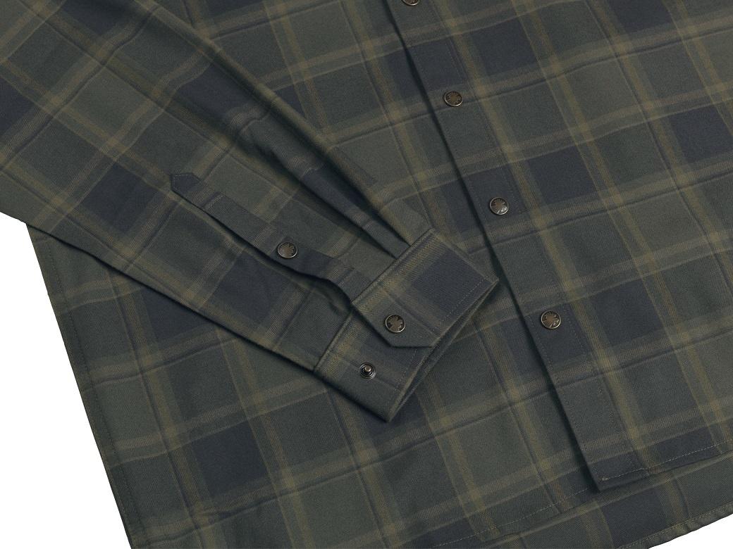 Härkila Metso Active Shirt Willow Green Check-3