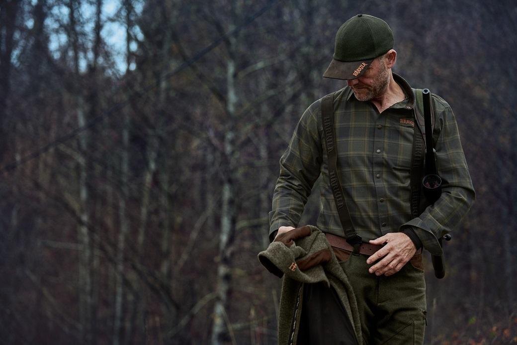 Härkila Metso Active Shirt Willow Green Check-4