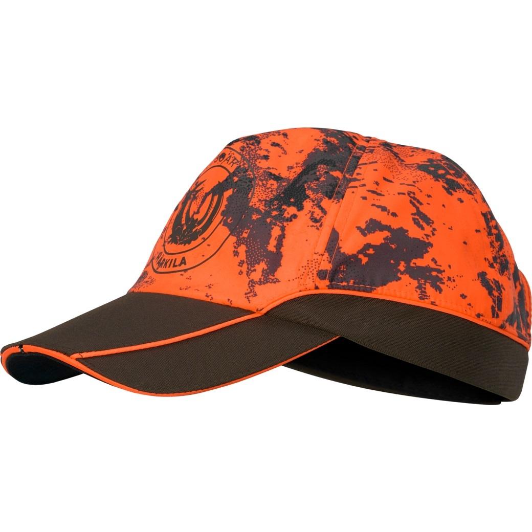 Härkila Wildboar Pro Light cap AXIS MSP® Orange Blaze Shadow Brown-1