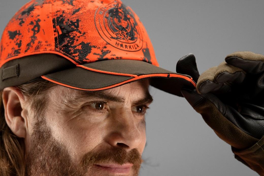 Härkila Wildboar Pro Light cap AXIS MSP® Orange Blaze Shadow Brown-2