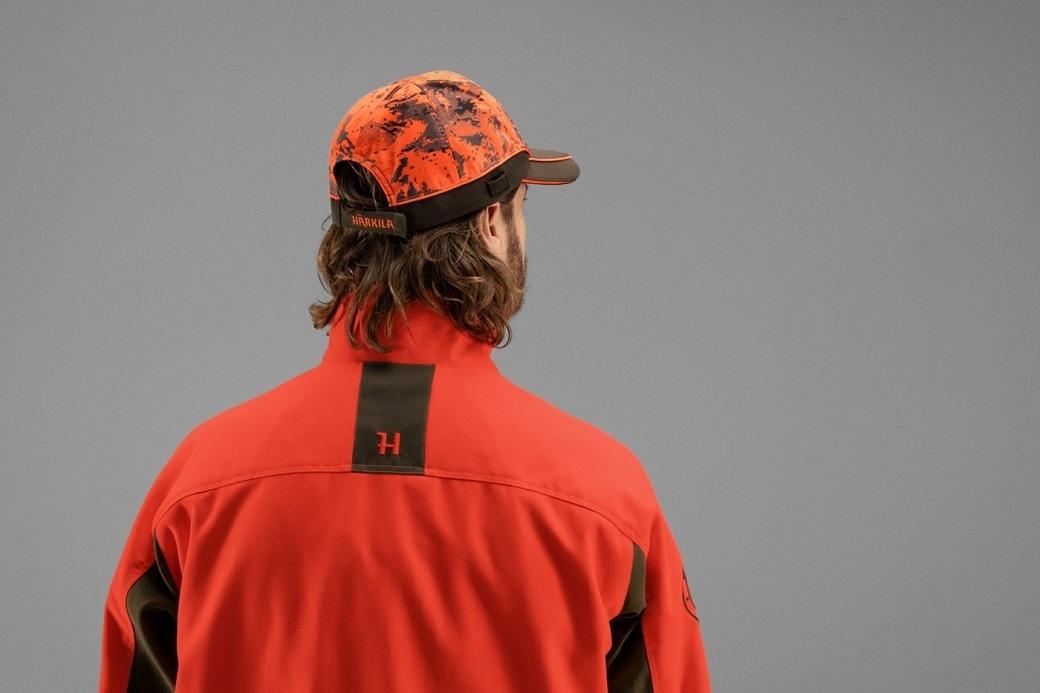 Härkila Wildboar Pro Light cap AXIS MSP® Orange Blaze Shadow Brown-4