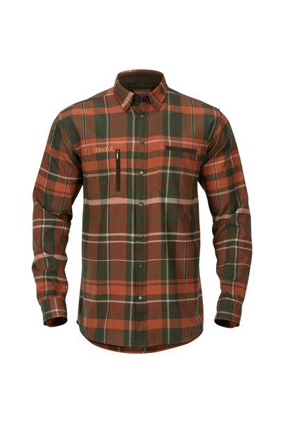 Härkila Eide Shirt Rust Check
