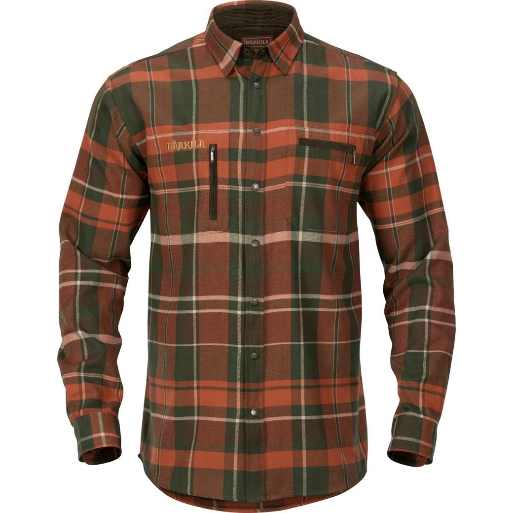 Härkila Eide Shirt Rust Check-1