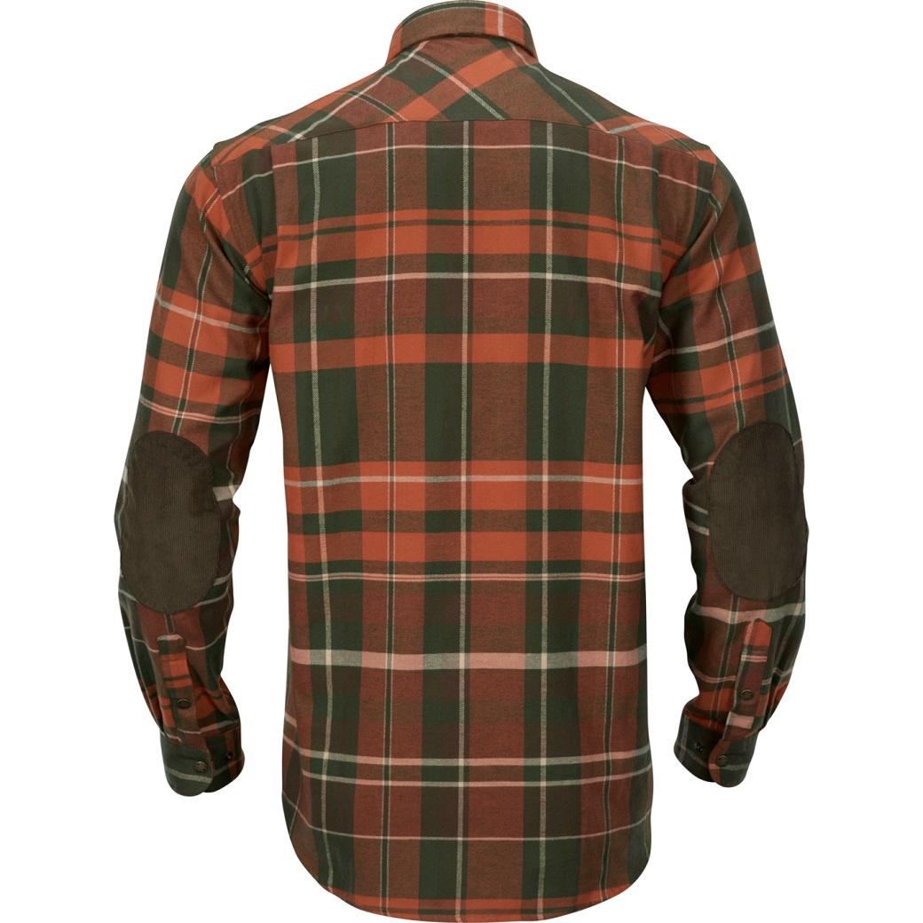 Härkila Eide Shirt Rust Check-2
