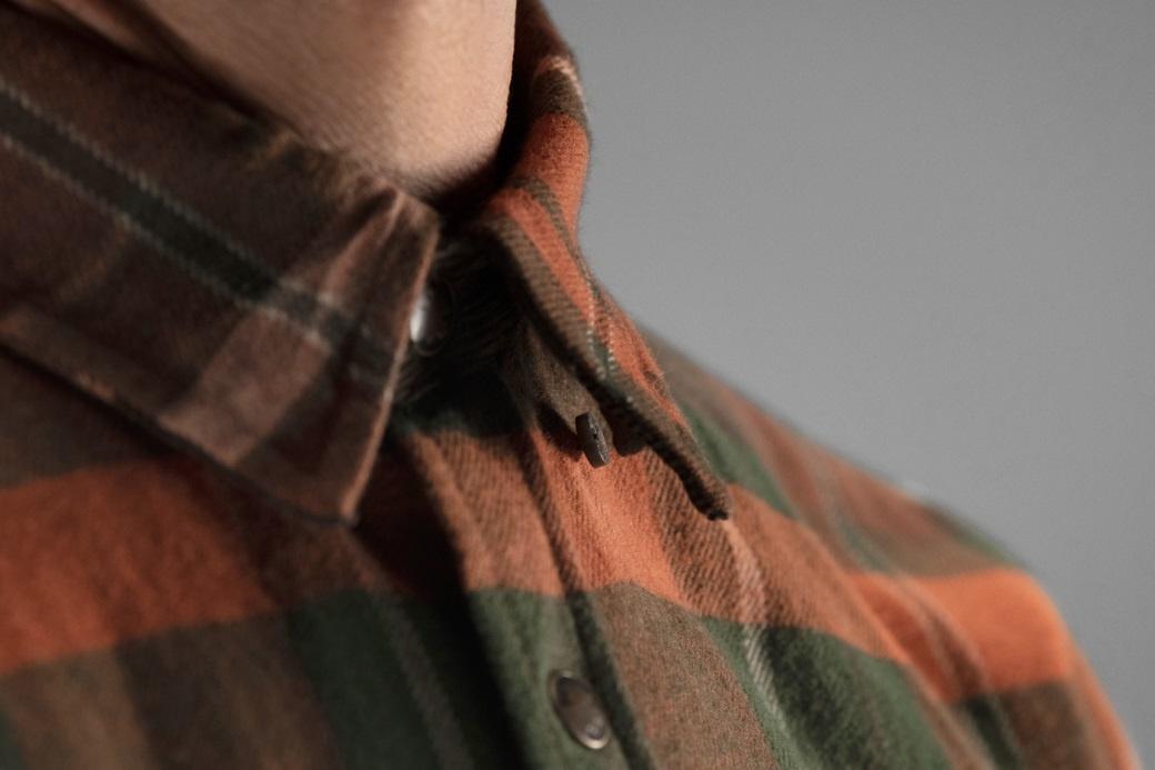 Härkila Eide Shirt Rust Check-4