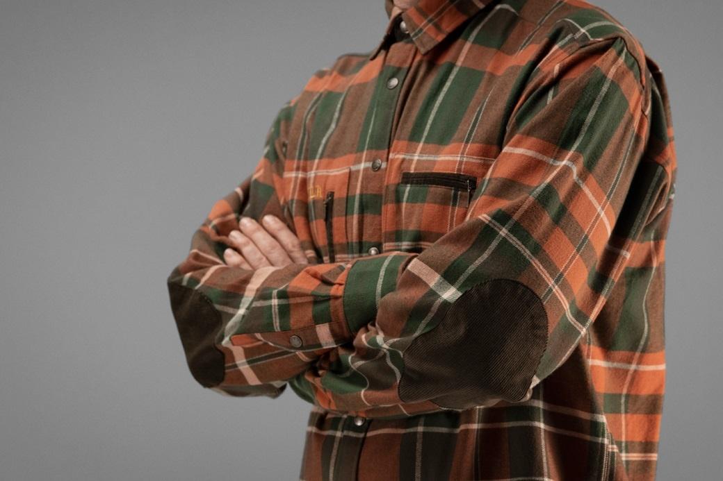 Härkila Eide Shirt Rust Check-6