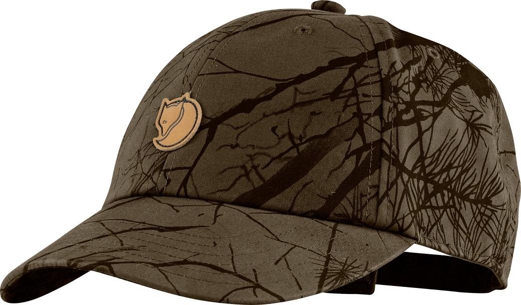 Fjällräven Lappland Camo Cap Dark Olive Camo-1