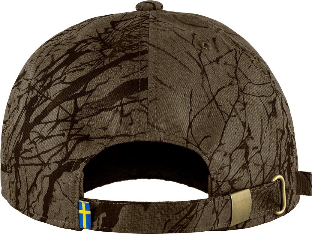 Fjällräven Lappland Camo Cap Dark Olive Camo-2