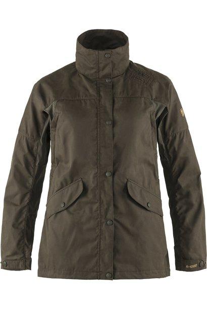 Fjällräven Forest Hybrid Jacket W Dark Olive