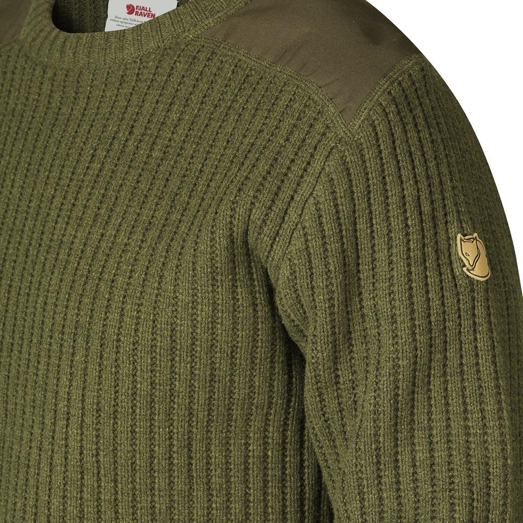 Fjällräven Singi Knit Sweater M Dark Olive-3