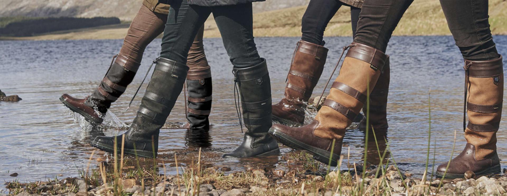 Leren laarzen voor heren en dames
