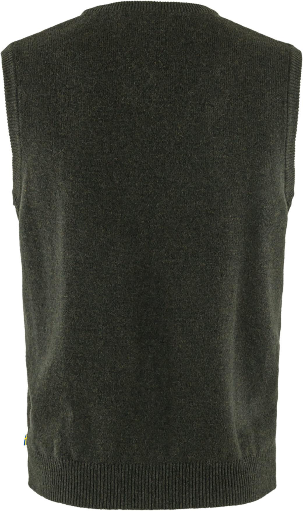 Fjällräven Övik Wool Vest M Dark Olive-2