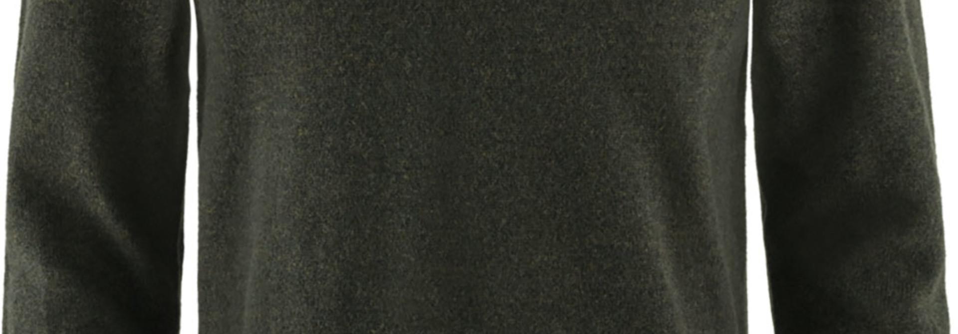 Fjällräven Övik Round-neck Sweater M Dark Olive