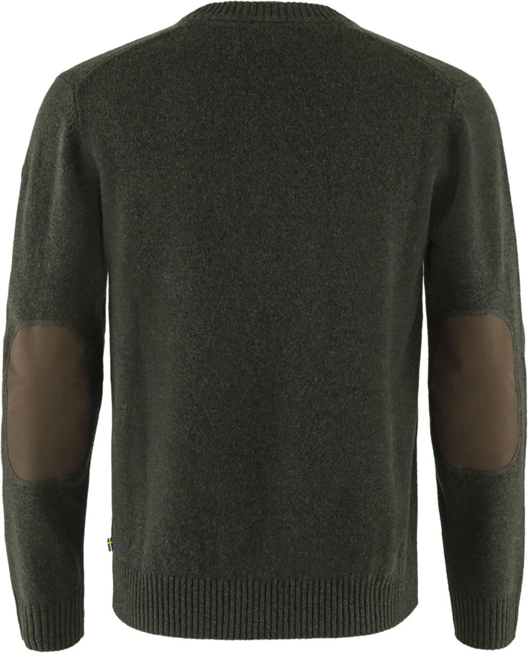 Fjällräven Övik Round-neck Sweater M Dark Olive-2