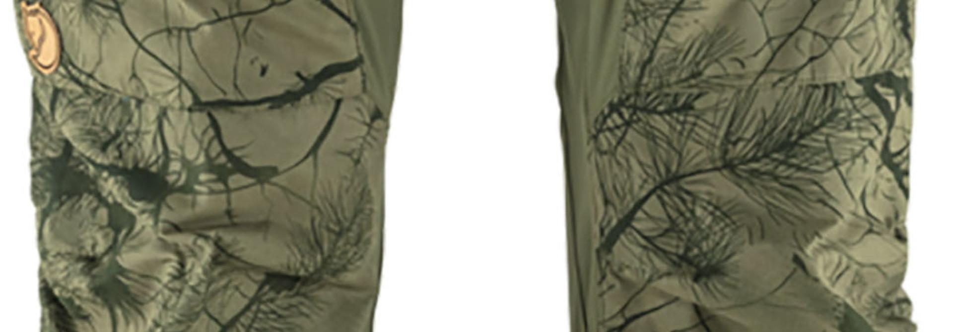 Fjällräven Keb Trousers M Reg Green Camo-Laurel Green