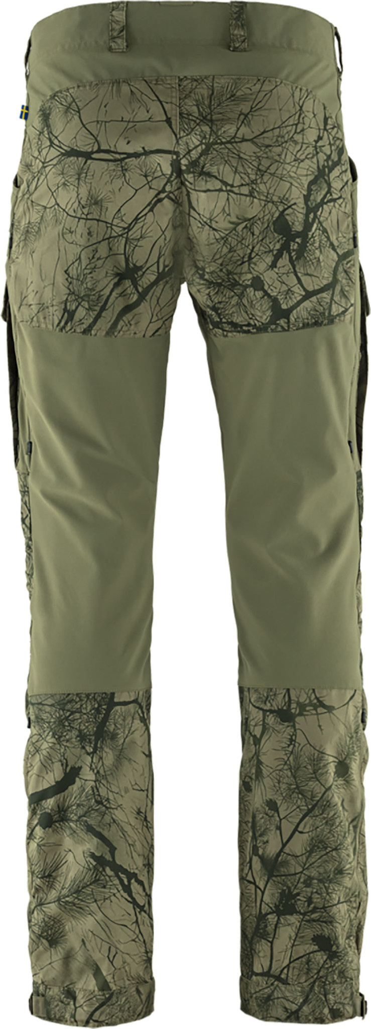 Fjällräven Keb Trousers M Reg Green Camo-Laurel Green-2