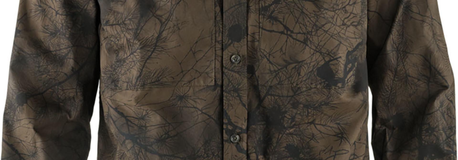 Fjällräven Värmland G-1000 Shirt M Dark Olive Camo
