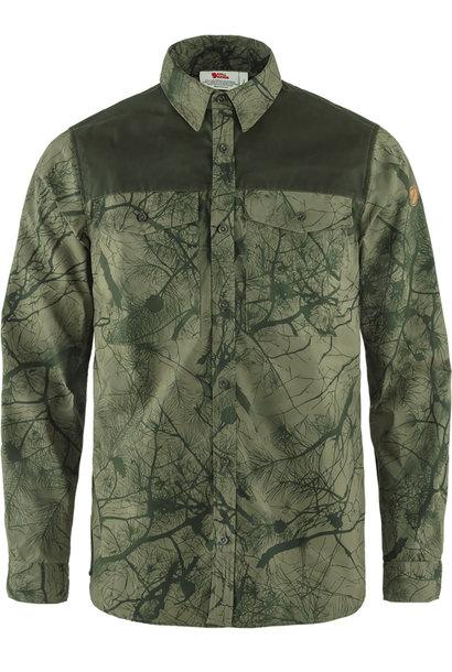Fjällräven Värmland G-1000 Shirt M Green Camo-Deep Forest